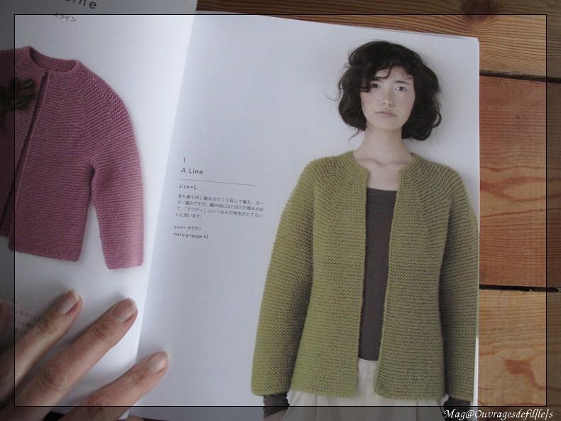 modele tricot japonais